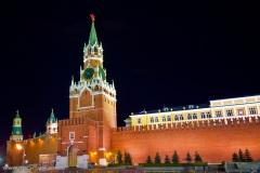 Aufnahmen von Moskau im April 2011